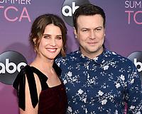 05 August 2019 - West Hollywood, California - Cobie Smulders, Taran Killam. ABC's TCA Summer Press Tour Carpet Event held at Soho House.   <br /> CAP/ADM/BB<br /> ©BB/ADM/Capital Pictures