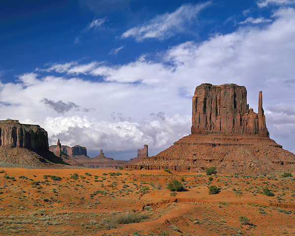 The Mitten rock formation in Monument Valley, Arizona, USA. . John offers private photo tours in Monument Valley and throughout Arizona, Utah and Colorado. Year-round.