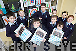 DAY TO DAY: Pupils from Knockanure national school who have published a calendar for 2010 to raise funds for the school, front l-r: Christopher Keane, Tommy Stack, Thomas Gould, Toby Geoffrey Stiles. Back l-r: Amanda O'Connor, Killian Doody, Leona O'Sullivan, Lauren O'Sullivan Mahony, Niamh McAuliffe.