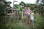 James and his Family live in Barrio Libertad, with other 30 inmates families, since 20 years, jan 2012.