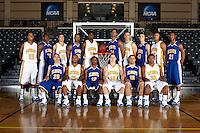 SAN ANTONIO , TX - SEPTEMBER 22, 2009: St. Mary's University Rattlers Basketball Team & Individual Photos. (Photo by Jeff Huehn)