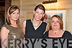 FUN: Having fun at the Fossa GAA social in the Killarney Avenue Hotel on Saturday night was l-r: Allanah Kelleher, Caroline Cronin and Katie Rintowl.   Copyright Kerry's Eye 2008