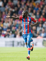 Crystal Palace Cheikhou Kouyate during the Premier League match between Crystal Palace and Norwich City at Selhurst Park, London, England on 28 September 2019. Photo by Andrew Aleksiejczuk / PRiME Media Images.
