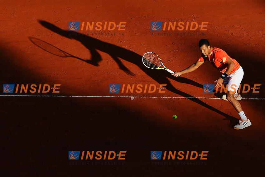 Jo Wilfried Tsonga Francia.Monaco Montecarlo 20/4/2012.Tennis Torneo ATP 1000 Master .Foto Insidefoto / Antoine Couvercelle / Tennismag / Panoramic