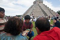 Artesanos en Chichén Itzá_Reportaje