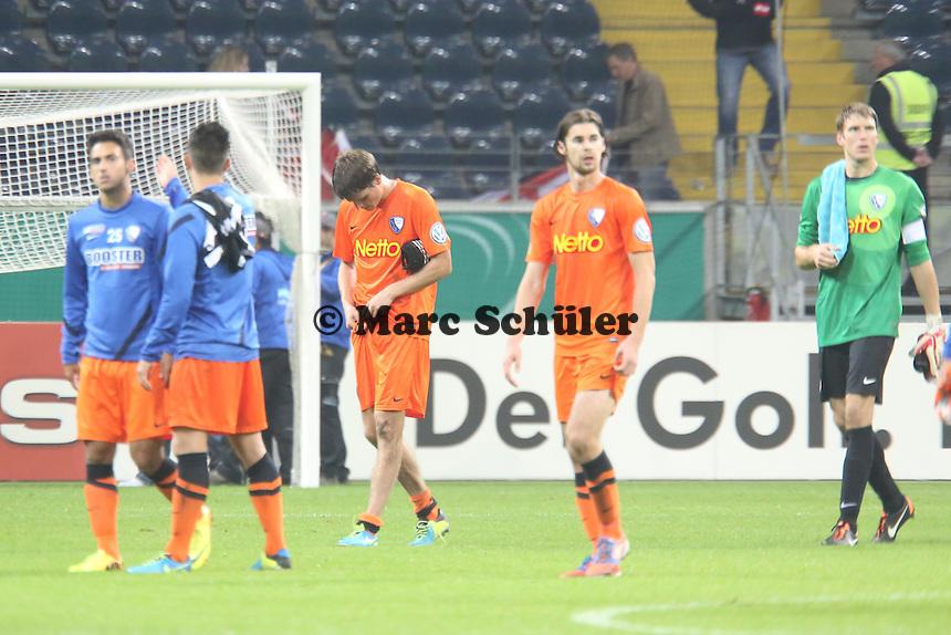 Enttäuschung bei Bochum - Eintracht Frankfurt vs. VfL Bochum, Commerzbank Arena, 2. Runde DFB-Pokal