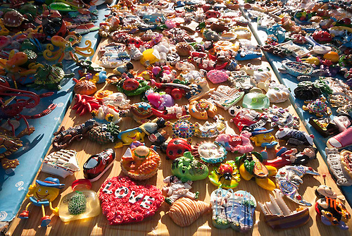Campomarino, Pouilles (Puglia), Italie, fete du 15 aout 2011. Le jour de l'ascension (ferragosto) est une fete tres celebree en Italie. Les touristes italiens afluent en masse sur les plages du Sud.