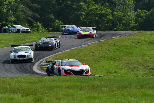 Pirelli World Challenge<br /> Grand Prix of VIR<br /> Virginia International Raceway, Alton, VA USA<br /> Saturday 29 April 2017<br /> Ryan Eversley/ Tom Dyer<br /> World Copyright: Richard Dole/LAT Images<br /> ref: Digital Image RD_PWCVIR_17_226