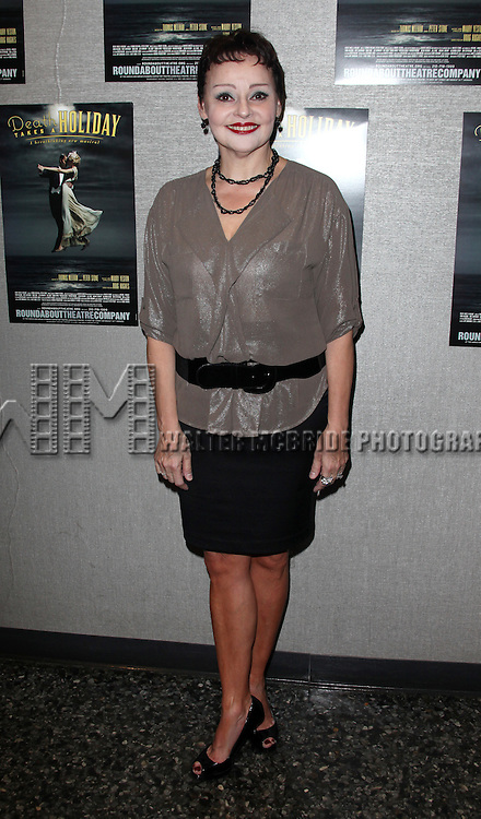 Linda Balgord.attending the Roundabout Theatre Company's Opening Night After Party for 'Death Takes A Holiday'  in New York City.