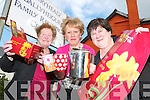 RAISING FUNDS AND AWARENESS: Mary Drury, Doherty O'Sullivan and Margaret Flaherty from the Ballyheigue Family Resource Centre kept the kettle on the boil on Friday during their Daffodil Day coffee morning.   Copyright Kerry's Eye 2008
