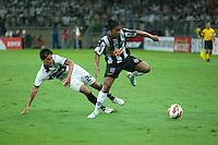 BELO HORIZONTE, MG, 24 JUNHO 2013 - LIBERTADORES - ATLÉTICO MG X OLIMPIA (PAR) - Ronaldinho Gaúcho do Atlético Mineiro em lance contra o Olimpia (Paraguay), jogo valido pela partida de volta das finais da Taça Libertadores da América no estádio Mineirão em Belo Horizonte, na noite desta quarta-feira, 24. (FOTO: SERGIO FALCI / BRAZIL PHOTO PRESS).