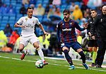 Levante UD's Jose Campaña and Real Madrid CF's Lucas Vazquez during La Liga match. Aug 24, 2019. (ALTERPHOTOS/Manu R.B.)