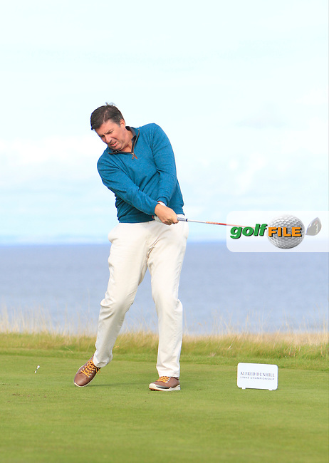 Scott Mahoney during Round 1of the Alfred Dunhill Links Championship at Kingsbarns Golf Club on Thursday 26th September 2013.<br /> Picture:  Thos Caffrey / www.golffile.ie