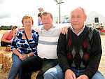 Mary Egan, Patsy Maguie and Sean Morgan pictured at the Wee County Fair. Photo:Colin Bell/pressphotos.ie