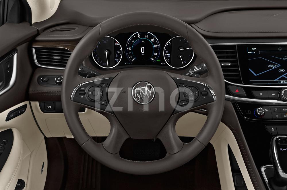 Car pictures of steering wheel view of a 2019 Buick LaCrosse Essence 4 Door Sedan