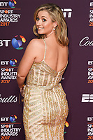 Hayley McQueen at the BT Sport Industry Awards 2017 at Battersea Evolution, London, UK. <br /> 27 April  2017<br /> Picture: Steve Vas/Featureflash/SilverHub 0208 004 5359 sales@silverhubmedia.com