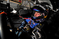 Oct 2, 2008; Talladega, AL, USA; ARCA RE/MAX Series driver Scott Speed during qualifying for the Remax 250 at Talladega Superspeedway. Mandatory Credit: Mark J. Rebilas-