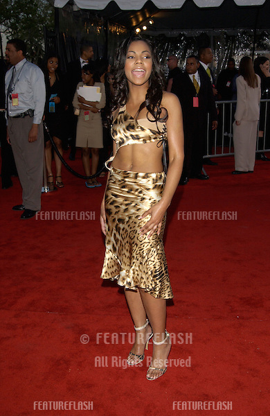 Singer ASHANTI at the 16th Annual Soul Train Music Awards in Los Angeles..20MAR2002.  © Paul Smith / Featureflash