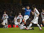 Lee McCulloch scores his hat-trick goal