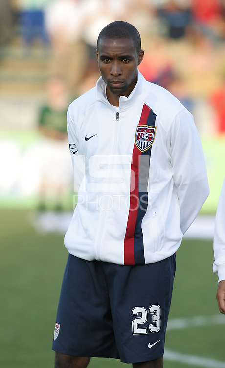 Eddie Pope in the starting eleven. The USA tied Jamaica 1-1 at SAS Soccer Park in Cary, N.C. on April 11, 2006.