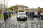 A guard of honour was put on by the Stack GAA Club,Connolly Park Tralee on Wednesday for the late Trevor Barrett who remains were brought from St Brendan's Church,Tralee to  Rath Cementry,Tralee.
