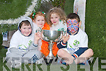 CELTIC: Jordan OShea, Karen ODonoghue, Kate McCarthy, and Jack Enright on the Killarney Celtic float in the St. Patricks Day Parade in Killarney on Saturday..
