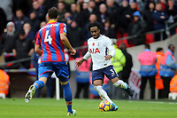 Luke Pennell of Dagenham and Luka Milivojevic of Crystal Palace during Tottenham Hotspur vs Crystal Palace, Premier League Football at Wembley Stadium on 5th November 2017