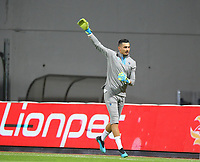 18th August 2019;  Goalkeeper Ugurcan Cakir of Trabzonspor during the Turkish Superlig match between Kasimpasa and Trabzonspor at Recep Tayyip Erdogan Stadium in Istanbul . Premier League Chelsea have agreed to sign the goalkeeper on a permanent basis