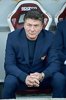 27th October 2019; Olympic Grande Torino Stadium, Turin, Piedmont, Italy; Serie A Football, Torino versus Cagliari; Walter Mazzarri the coach of Torino FC - Editorial Use