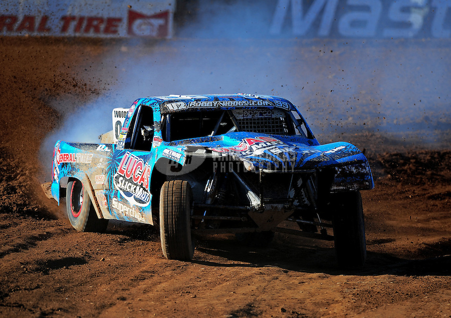 Apr 16, 2011; Surprise, AZ USA; LOORRS driver Robby Woods (99) during round 3 at Speedworld Off Road Park. Mandatory Credit: Mark J. Rebilas-