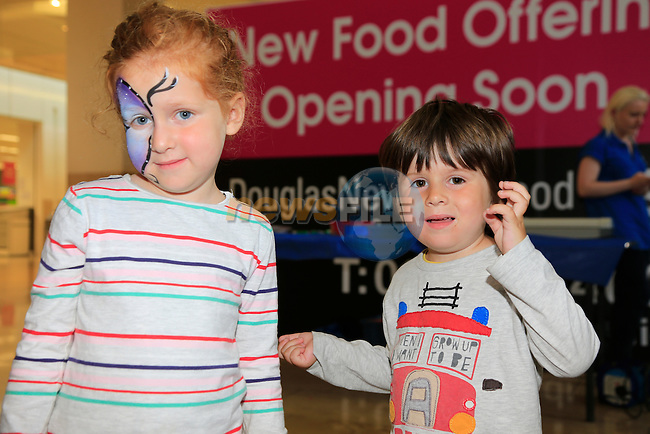 Thomisna and Oliver Mulholland at the Scotch Hall fun Day.<br /> Picture: Fran Caffrey www.newsfile.ie