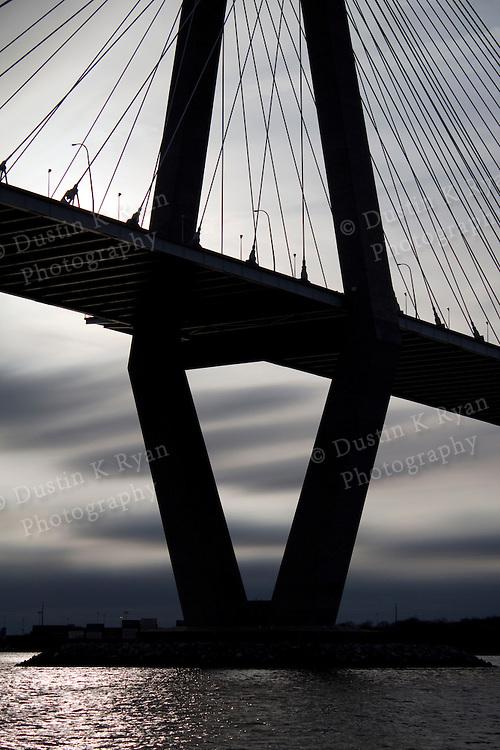 Arthur Ravenel Jr Bridge over the Cooper River in Charleston South Carolina