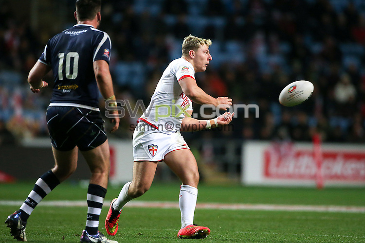 Picture by Alex Whitehead/SWpix.com - 05/11/16 - Rugby League - 2016 Ladbrokes Four Nations - England v Scotland - Ricoh Arena, Coventry, England - England's George Williams.