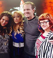 Vanessa Gomez, Jennifer Blanc-Biehn, Michael Biehn, Staci Layne Wilson<br />