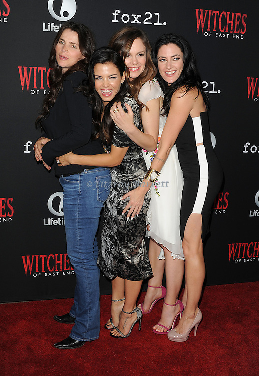 {persons} arriving at the Witches of East End ComicCon Party 2014 held at The Tipsy Crow in San Diego, Ca. July 24, 2014.