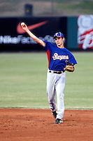 Drew Robinson - AZL Rangers - 2010 Arizona League.  Photo by:  Bill Mitchell/Four Seam Images..