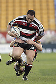 John Fonokalafi during the Air NZ Cup game between the Counties Manukau Steelers and Southland played at Mt Smart Stadium on 3rd September 2006. Counties Manukau won 29 - 8.