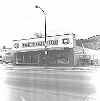 Faded Store Fronts 1972 Hot Springs