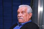 Poet Derek Walcott in New York on June 30, 2009. Photo by Lia Chang