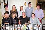 ***Reproduction Free***<br /> JDM Photography.ie<br /> Photographer: Michael Collins<br /> <br /> Pictured in Leen's Hotel on Saturday night for their annual Christmas night out was the staff of Rock Hair Scissors, hair and beauty salon, Abbeyfeale. Pictured front row L-R: Rachel Conway, Glin, Dominika and Tomasz Malkowicz, Templeglantine and Adrian Breen, Raheenagh. Back Row, L-R: Kirsty Gallecher, Grace Harnett, Siobhan Hassett, Padraig Moloney, Abeyfeale, Seamus Balfe, Foynes.