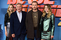 Sylvia Hoeks, Harrison Ford, Ryan Gosling &amp; Ana De Armas at the &quot;Blade Runner 2049&quot; photocall at the Corinthia Hotel, London, UK. <br /> 21 September  2017<br /> Picture: Steve Vas/Featureflash/SilverHub 0208 004 5359 sales@silverhubmedia.com