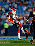 3 September 2009:  Buffalo Bills' punter Brian Moorman in action during a pre-season game against the Detroit Lions at Ralph Wilson Stadium in Orchard Park, New York. The Lions defeated the Bills 17-6...Mandatory Photo Credit: Ed Wolfstein Photo