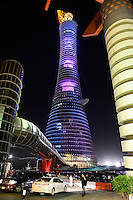 QATAR, Doha, Hotel Aspire tower The Torch / KATAR, Doha, Hotel Aspire tower The Torch