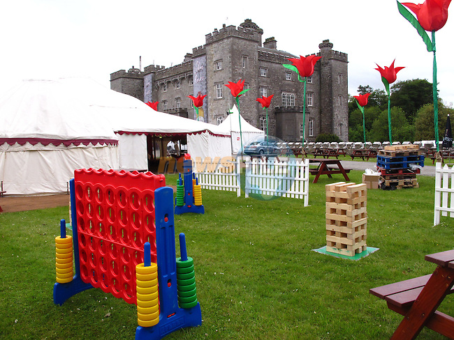 Final preperations for the Kings of Leon concert at Slane Castle..Picture: Fran Caffrey/ www.newsfile.ie .