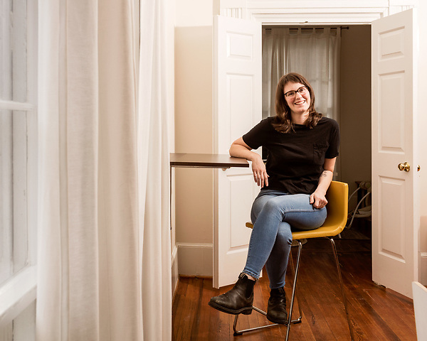 April 7, 2017. Durham, North Carolina.<br /> <br /> Ali Rudel started her East Durham Pie Company business while co-working at Nido, where her daughter could be in the on site day care while she worked. Rudel will be opening a brick and mortar store in the coming year and no longer works at Nido. <br /> <br /> Nido is a co-working space which also offers a Montessori preschool on site. Catering to working parents with morning and afternoon preschool shifts, Nido has thrived and is actively looking for a larger space. <br /> <br /> Jeremy M. Lange for The New York TImes