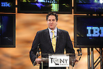 Nick Scandalios.announcing the 2012 Tony Award Nominations at Lincoln Center on 5/1/2012 in New York City. © Walter McBride / Retna Ltd.