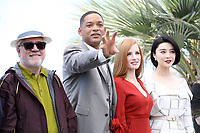 """Pedro ALMOD""""VAR - Will SMITH - Jessica CHASTAIN - FAN Bingbing - CANNES 2017 - PHOTOCALL DU JURY"""