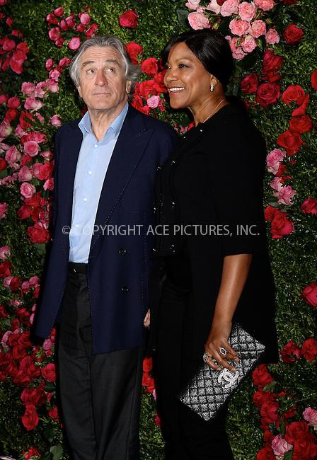 WWW.ACEPIXS.COM . . . . .  ....April 24 2012, New York City....Robert De Niro and Grace Hightower arriving at the 7th Annual Chanel Tribeca Film Festival Artists Dinner at The Odeon on April 24, 2012 in New York City....Please byline: NANCY RIVERA- ACEPIXS.COM.... *** ***..Ace Pictures, Inc:  ..Tel: 646 769 0430..e-mail: info@acepixs.com..web: http://www.acepixs.com