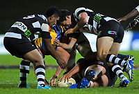 Action from the Mitre 10 Cup Championship rugby final between Bay Of Plenty Steamers and Hawkes Bay Magpies at Rotorua International Stadium, New Zealand on Friday, 25 October 2019. Photo: Dave Lintott / lintottphoto.co.nz