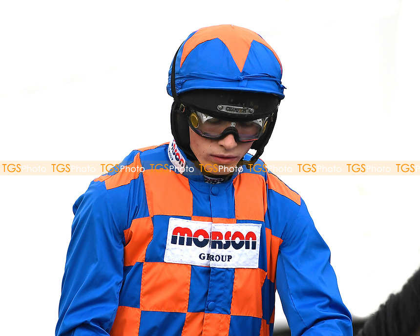 Jockey Harry Cobden during Horse Racing at Plumpton Racecourse on 10th February 2020